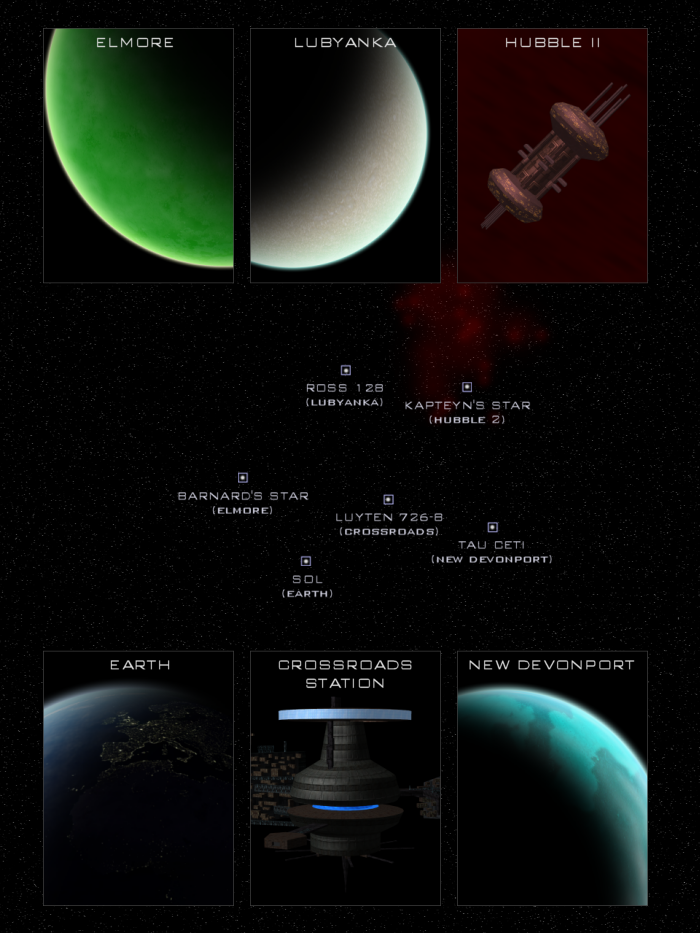 Chronicles of Humanity Map